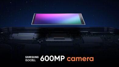 سامسونگ روی یک سنسور 600 مگا پیکسلی کار می کند