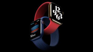 دل های آینده ی اپل واچ (Apple Watch) همراه با یک دوربین مخفی و یک فلاش زیر صفحه ی نمایش ارائه شود.