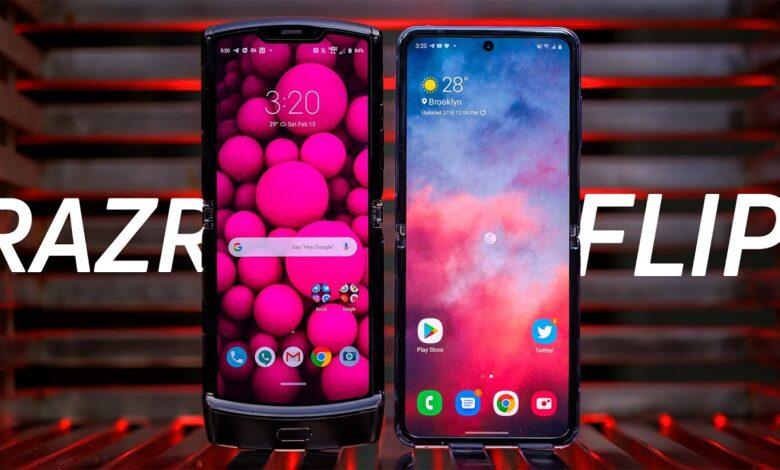 Motorola Razr 2020و Samsung Galaxy Z Flip :کدام گوشی تاشو برای شما مناسب است؟