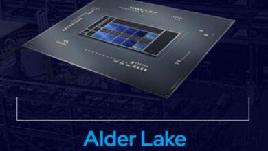پردازنده نسل ١٢ اینتل Alder Lake سری T با فرکانس ۴.٩ گیگاهرتزی و توان ٣۵ واتی روانه بازار میشود