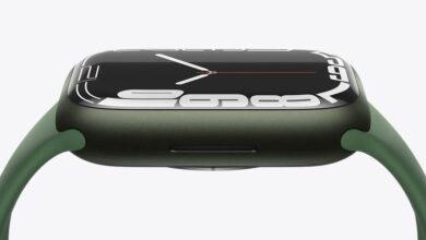 تاریخ عرضه اپل واچ سری ۷ رسما مشخص شد: ۲۳ مهر ۱۴۰۰