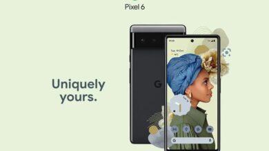 تمامی مشخصات سری پیکسل ۶ در وبسایت بازاریابی گوگل بهصورت کامل تایید شد